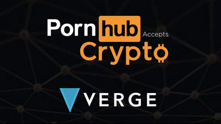Verge parnership met Pornhub, koers dropt