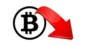 Bitcoin prijs krijgt klappen naar 6211,- dollar