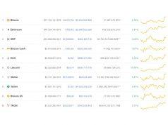 Koersen op cryptomarkt geven mooie meerwaarde