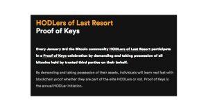 Proof-of-Keys evenement