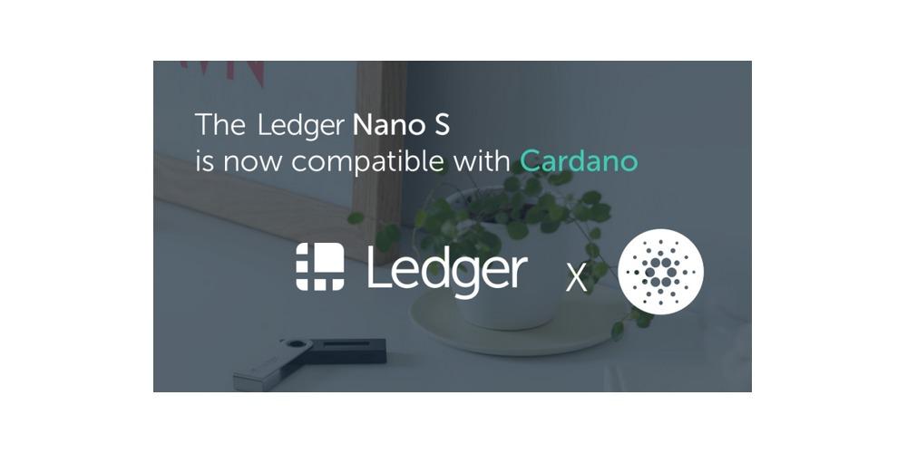 Ledger biedt nu ondersteuning voor Cardano