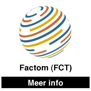 Factom FCT en cryptocurrencies bekijk je op cryptobeginner.nl