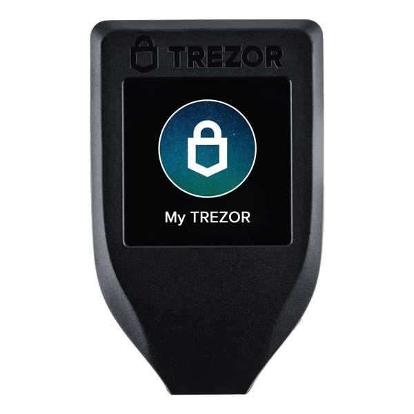 Trezor T hardware wallet
