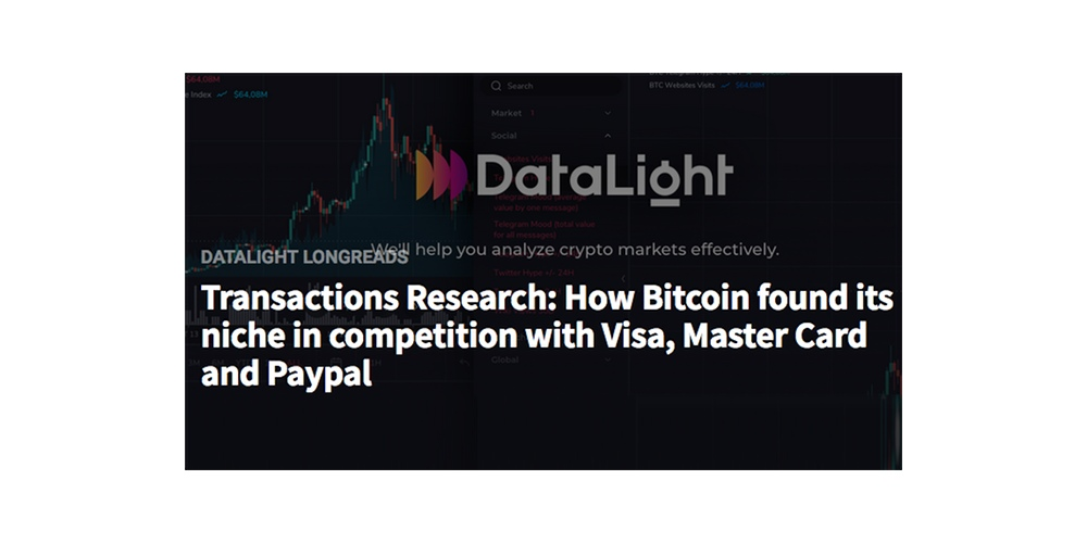 Bitcoin als betaalsysteem versus Mastercard & Visa