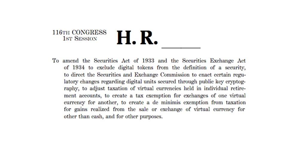 Hernieuwde poging invoering wetsvoorstel vrijstelling tokens SEC