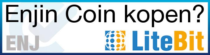 Wil je Enjin Coin (ENJ) kopen? Kijk dan ook eens bij LiteBit!