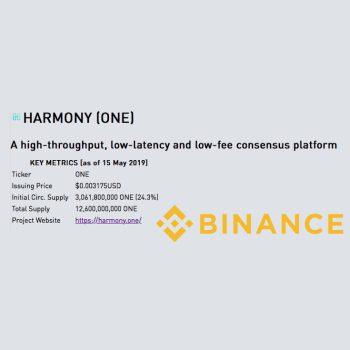 Binuance kondigt Harmony Protocol aan als nieuwe IEO