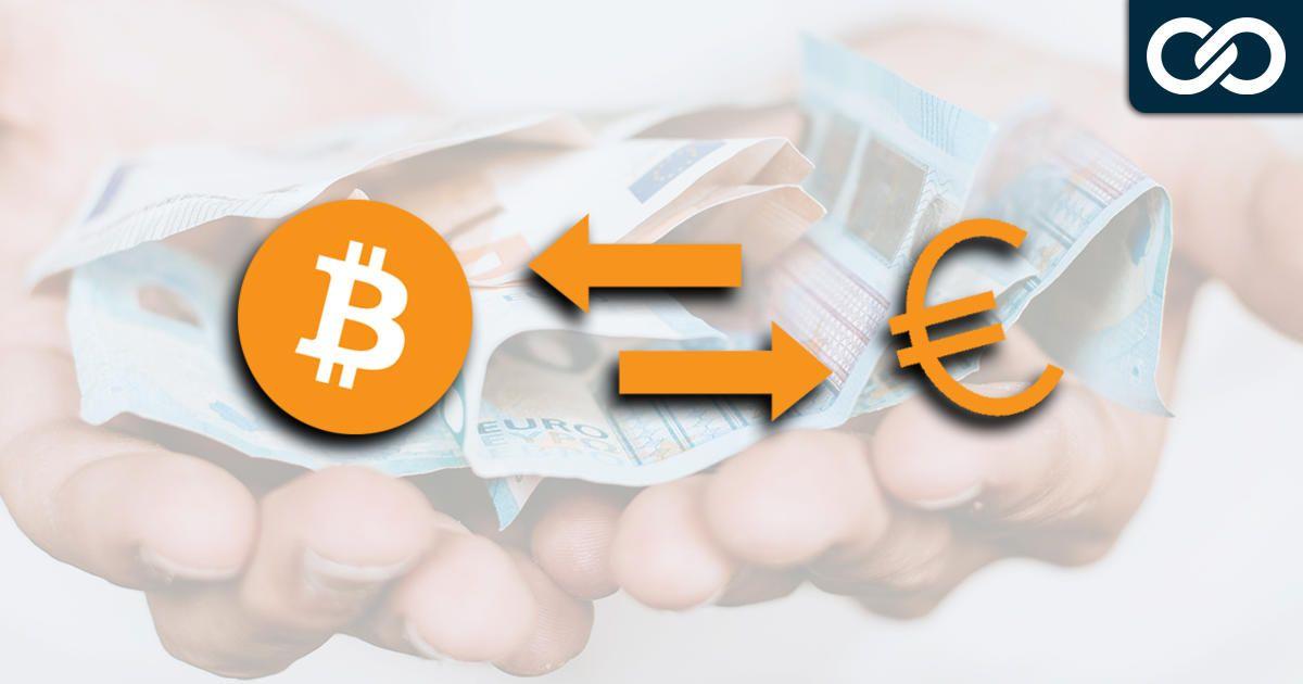 Bitcoin verkopen voor euro